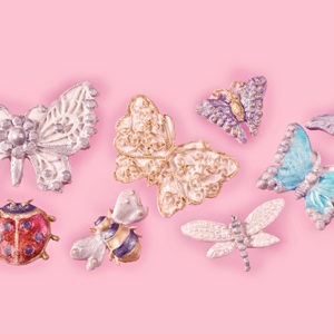 Butterfly & Insect Brooch Mould