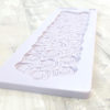 Piped Swirl Border Mould
