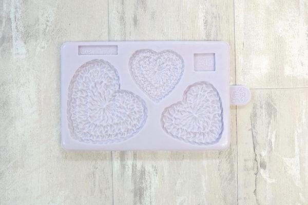 Crochet Hearts Mould