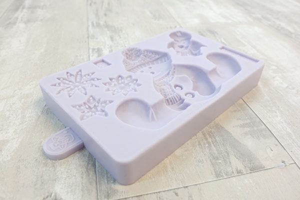Sitting Snowman Mould