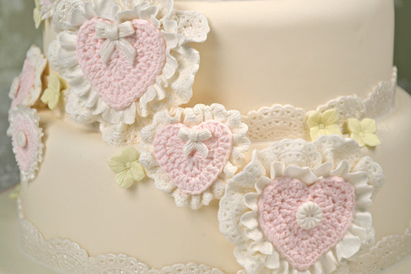 Crochet Hearts Mould