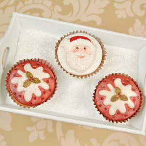 Cupcake Top - Christmas Pudding Mould