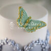 Brush Embroidery Butterflies