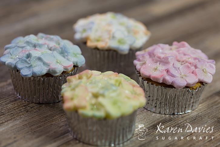Cupcake Top - Hydrangea Mould