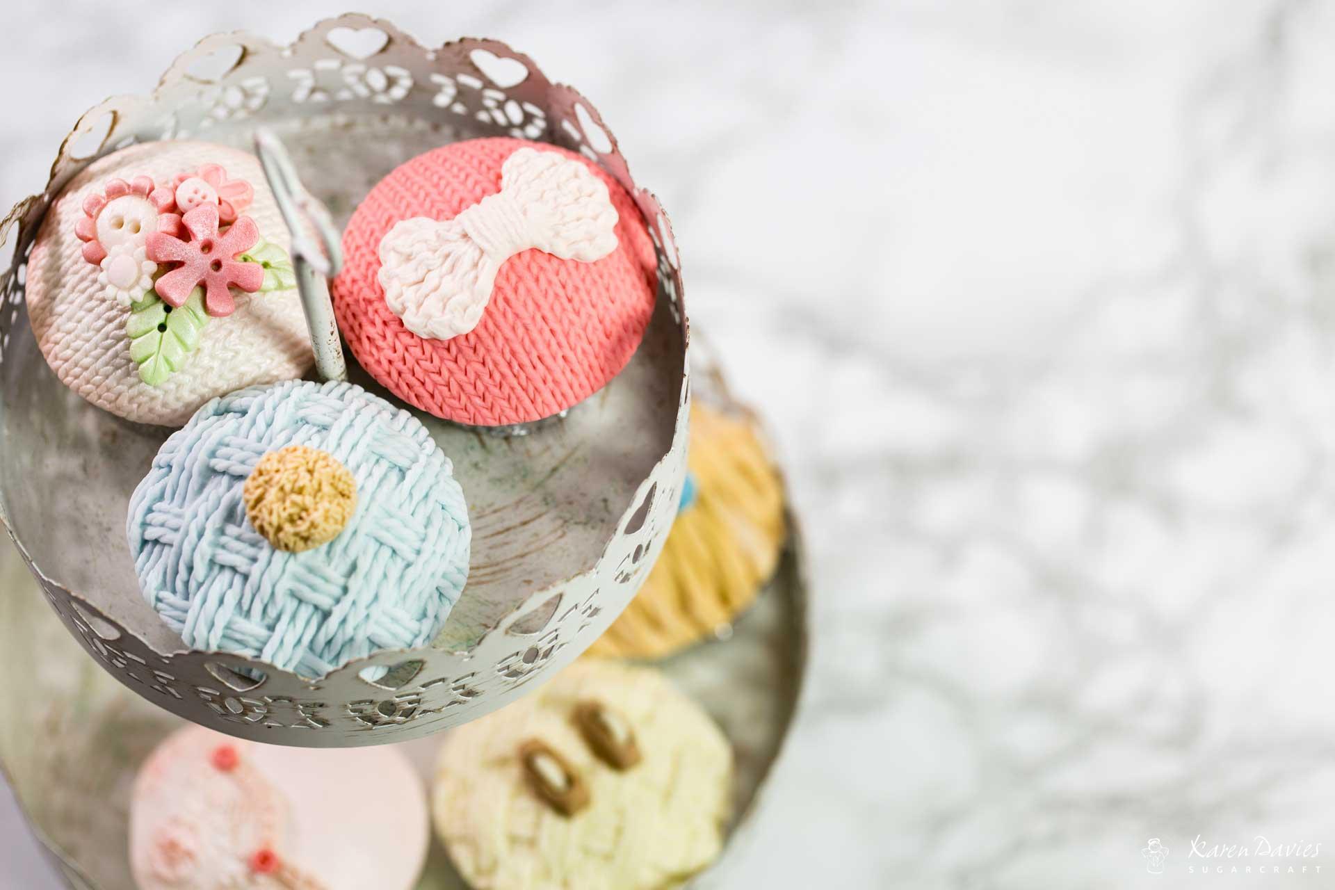 Knitting Cake Mould : Knitted piece karen davies cakes