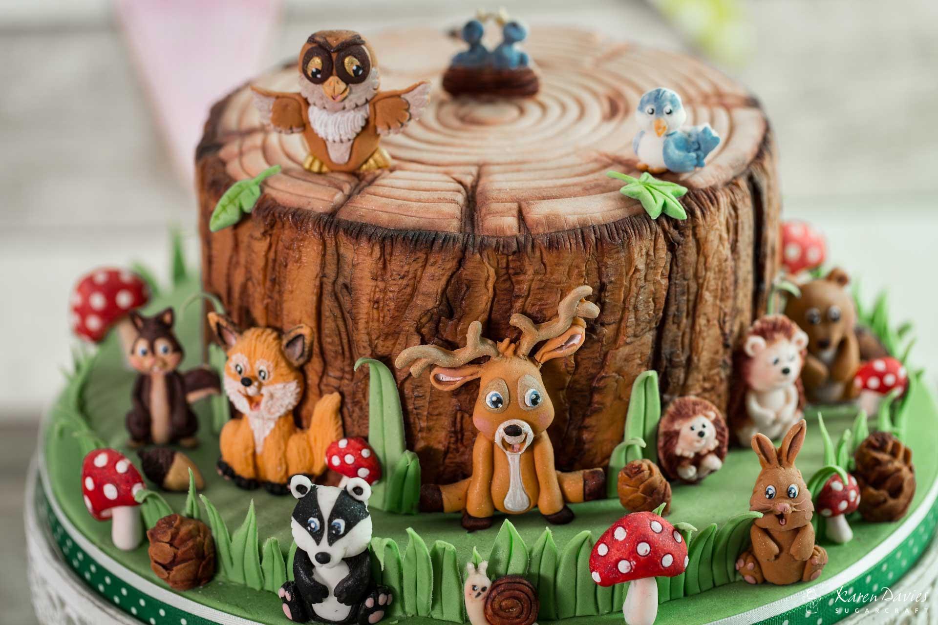 Woodland Animals Karen Davies Cakes