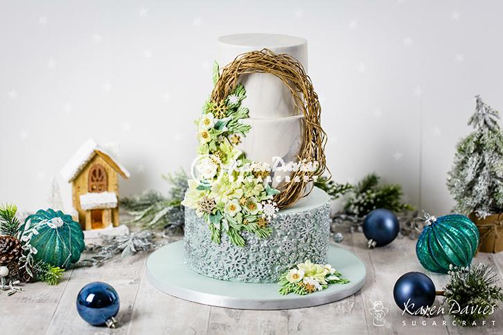 Winter Wreath Mould