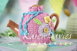Crochet Flower & Leaf