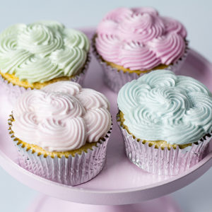 Cupcake Top - Piped Swirl