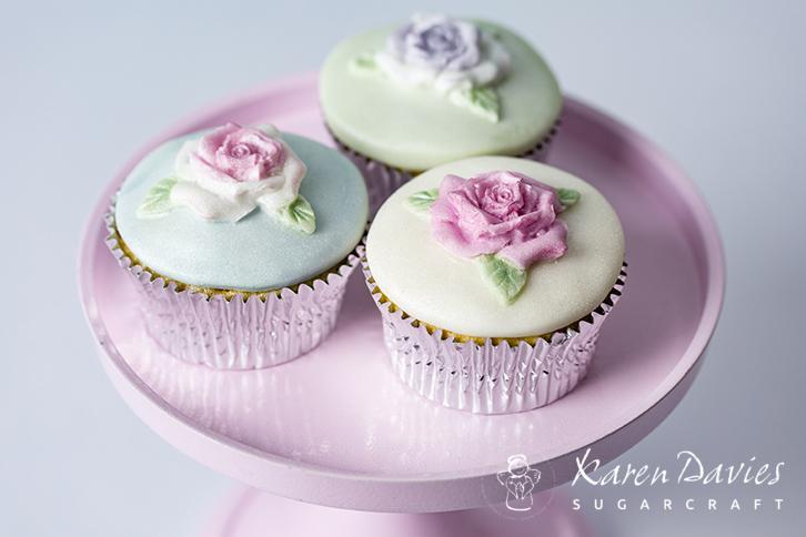 Cupcake Top - Rose