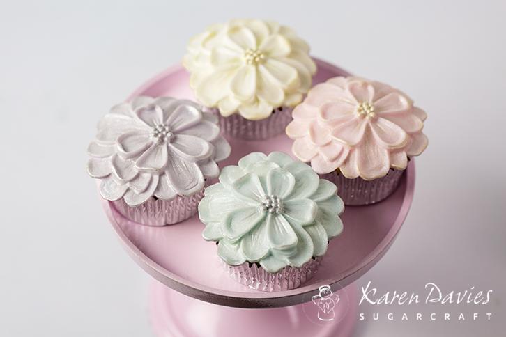 Cupcake Top - Dahlia