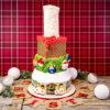 Cupcake Top - Santa