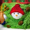 Snowman Bobble