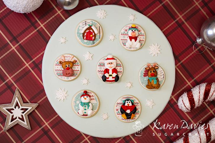 Christmas Characters Mould