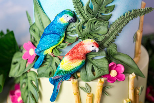 Tropical Birds Mould