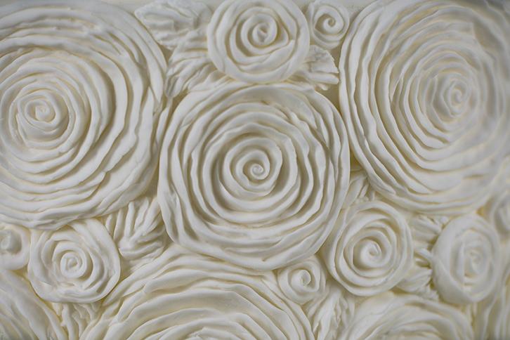 Ruffled Roses Mould
