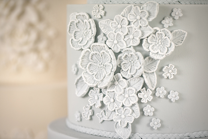Brush Embroidery Mould Karen Davies Cakes
