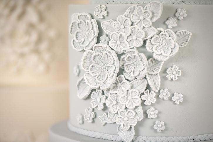 Brush Embroidery Mould Karen Davies Cakes