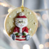 Christmas character cookie