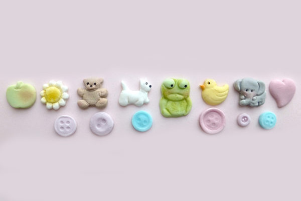 Baby Buttons Mould