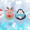 Christmas Cupcake Top Moulds