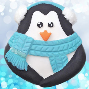 Cupcake Top - Penguin Mould