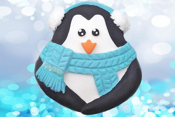Cupcake Top - Penguin Mould