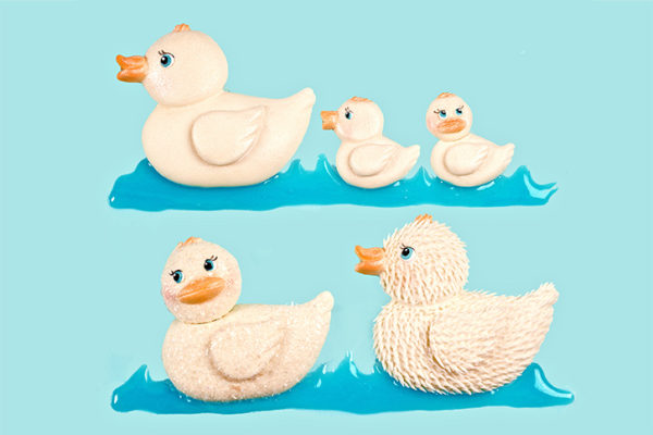 Rubber Ducks Mould