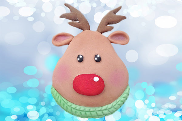 Cupcake Top - Rudolph Mould