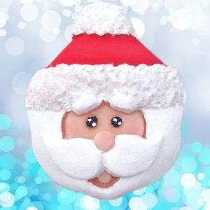 Cupcake Top - Santa Mould