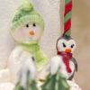 Sitting Snowman Mould